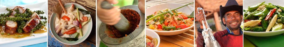 Thai Recipes from Time for Lime's Cooking School on Koh Lanta (Ko Lanta), Thailand.
